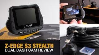 Z-EDGE S3 dual dash cam review