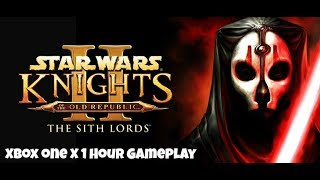 Star Wars Knights of the Old Republic 2 -  Xbox One X Enhanced First Hour Gameplay (1080p/60FPS)