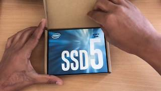 "Unboxing Intel 545s 2.5"" SSD SATA 3 7mm internal solid state drive"