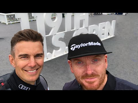 US OPEN PEBBLE BEACH On The TaylorMade TOUR TRUCK | ME AND MY GOLF