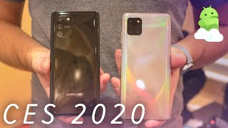 Galaxy S10 Lite and Note 10 Lite: Classic Samsung
