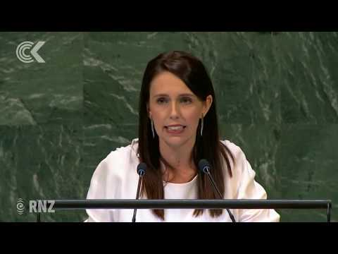Jacinda Ardern's UN message   'Me too must become we too': RNZ Checkpoint