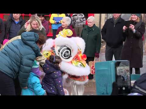 Chinese New Year Celebrations on Nairn High Street. 5th Feb 2019