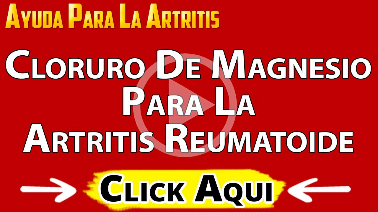 Usos y beneficios del cloruro de magnesio para la artritis for Para que sirve la ergonomia