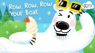 Row Row Row Your Boat - Children songs   Nursery Rhymes - Kids Academy