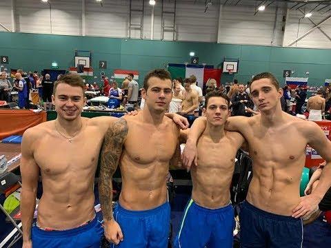 Плавання. Євро-2019 (25 м). Національний рекорд України. Комбінована естафета 4х50м