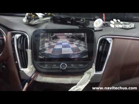 GM Chevrolet 2016 Malibu Mylink   Android Navigation And Rear View Camera Installed