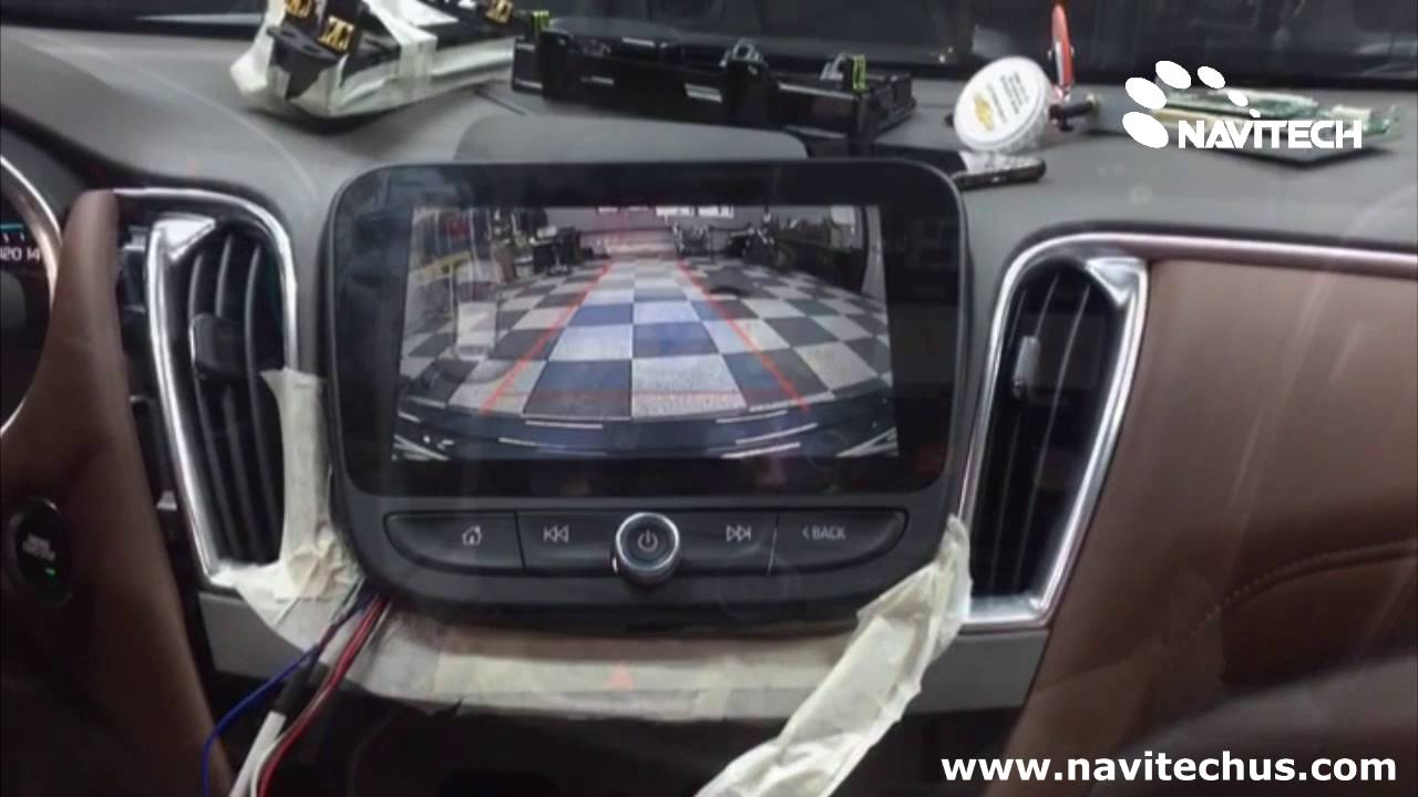 GM Chevrolet 2016 Malibu Mylink Android Navigation And ...