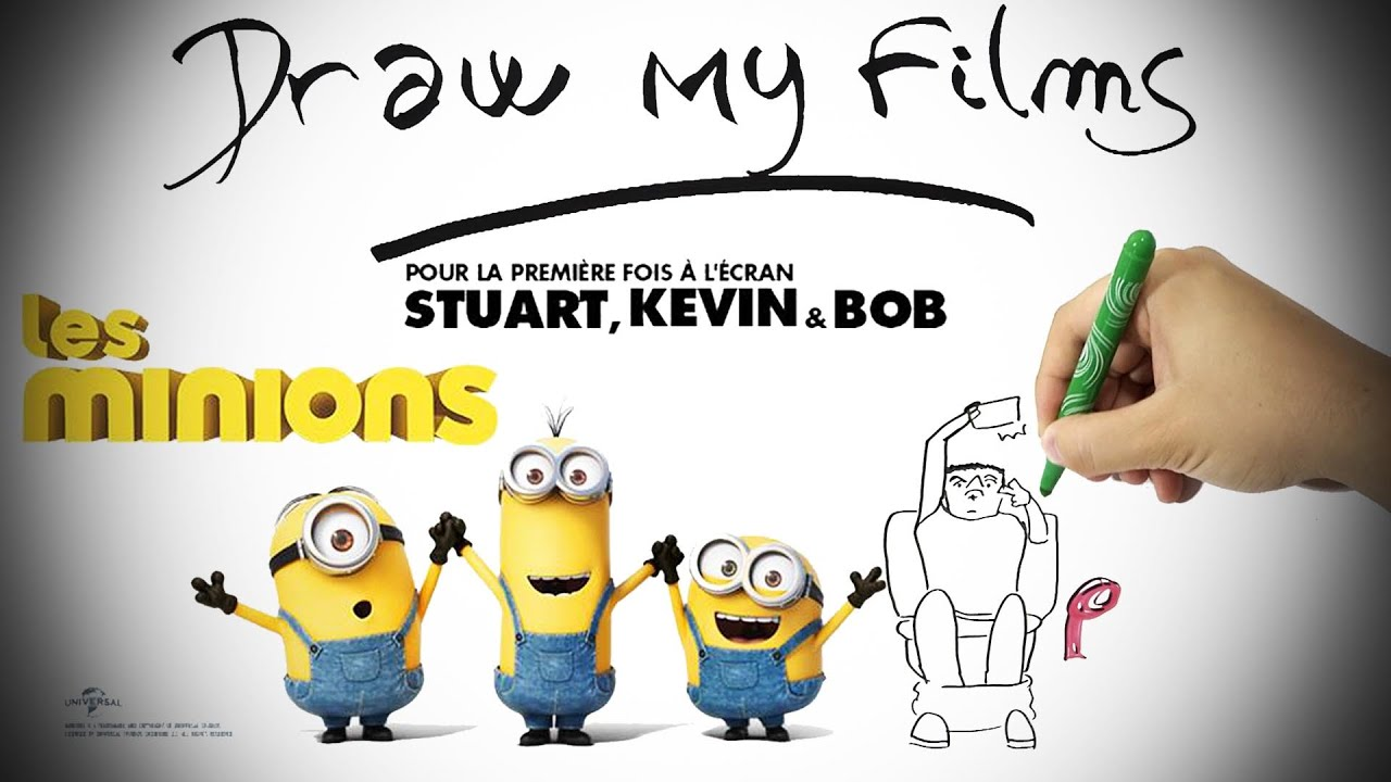 les minions draw my film by ganesh 2 youtube. Black Bedroom Furniture Sets. Home Design Ideas