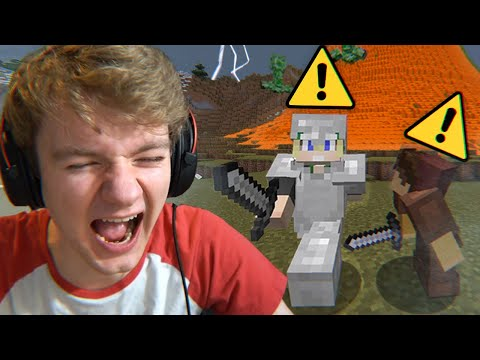 Minecraft's Natural Disaster Mod Is Stupidly Funny - TommyInnit