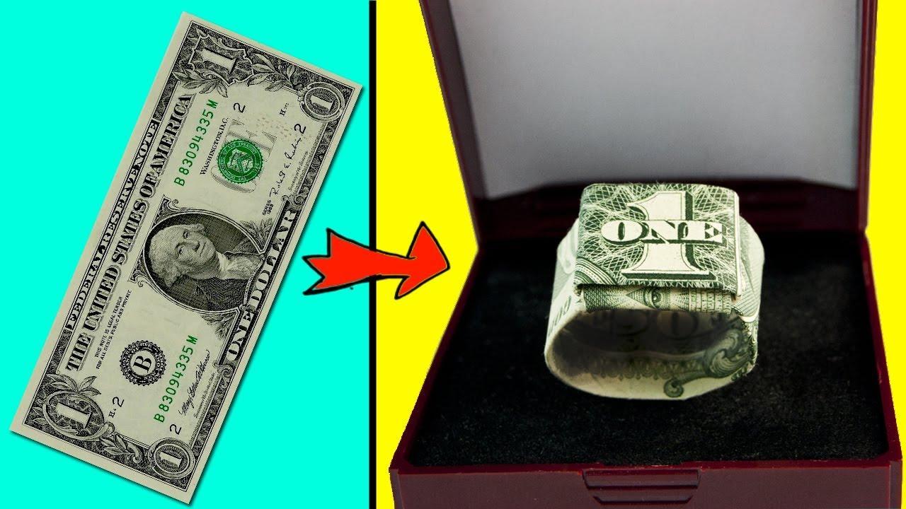 Dollar Bill Origami Heart Ring by ~craigfoldsfives on deviantART ... | 720x1280