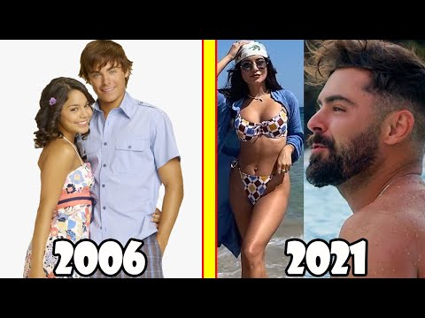 High School Musical Before and After 2021 (The Movie Series High School Musical Cast Then and Now)