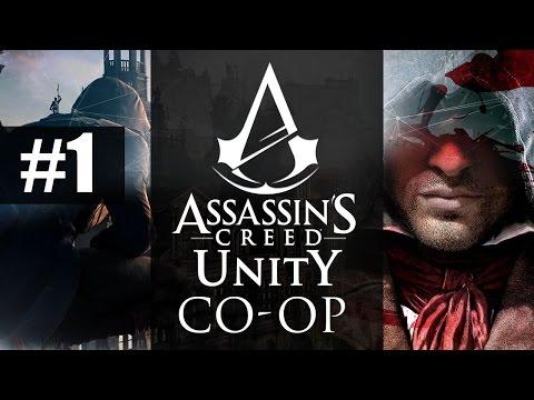 Assassin's Creed Unity [CO-OP] #1 - JEST MEGA! | Vertez, Zakreble, Wojtek, Cookie M