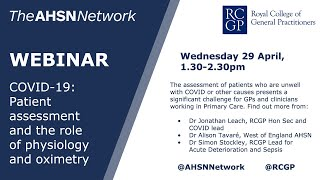 COVID-19: Patient Assessment - the role of physiology and oximetry