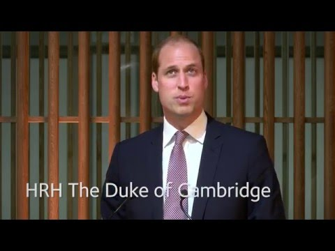 Prince William opens the Blavatnik School of Government