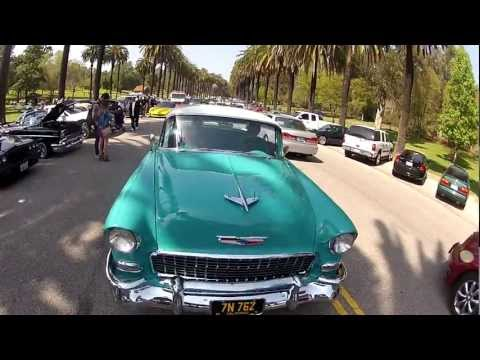 Lowrider Cruise at Elysian Park in Los Angeles, CA on 6 May 2012