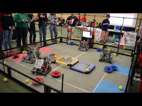 Vermont Technical College's VEX Inaugural Robotics Competition Semifinals