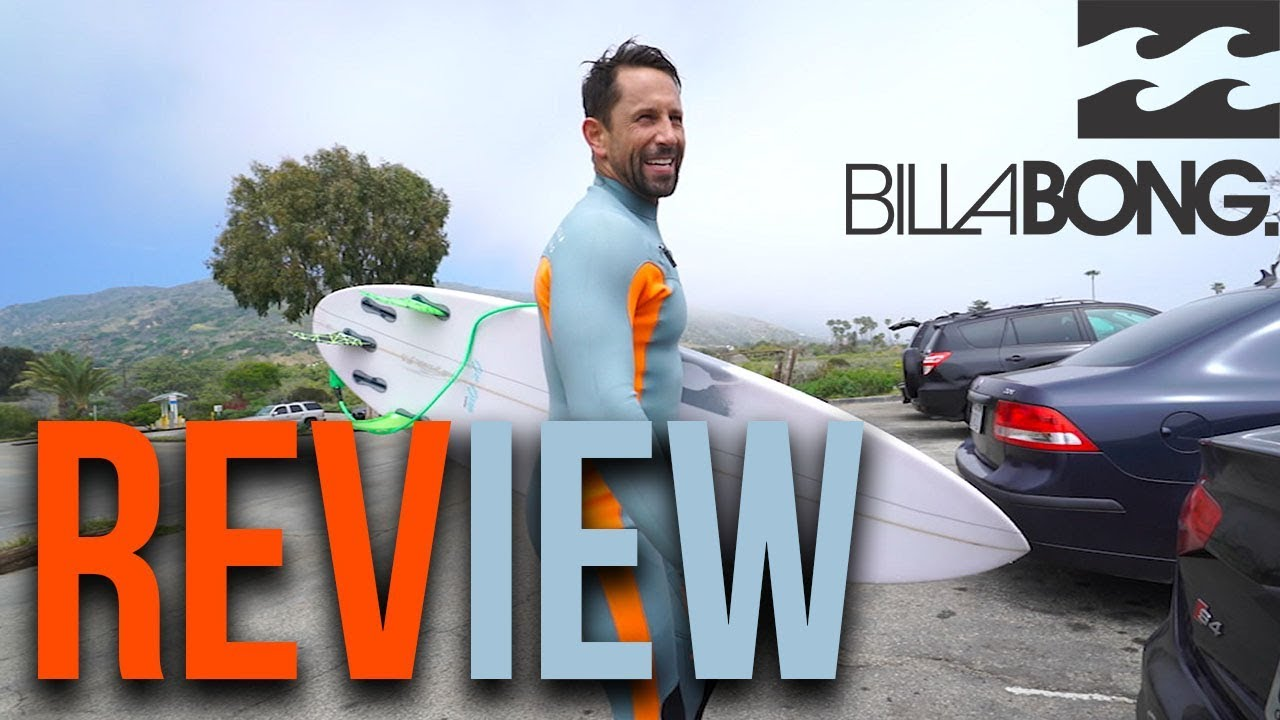 NEW BILLABONG REVOLUTION SERIES WETSUIT REVIEW!!  bf89926bf13