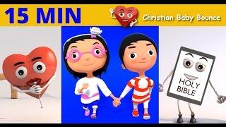 Jésus M'Aime | Et Plus de l'École du dimanche des Chansons pour Bébés | Christian Bébé Rebond de l'Animation 3D Chansons