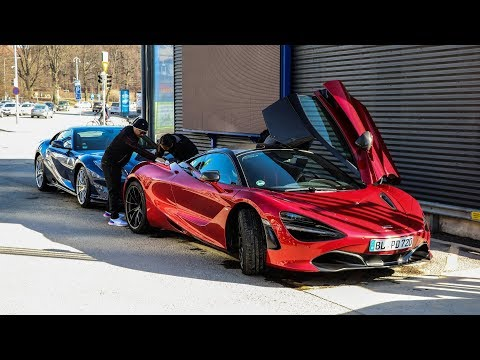 720s, 812SF & AMG GTC Convertible in HELSINKI!  |  CARS WITH ROBERT