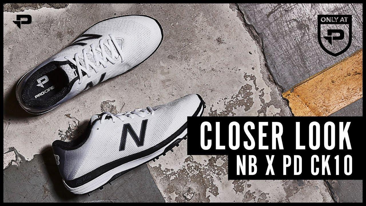 New Balance x Pro:Direct CK10 Cricket Shoes - Closer Look