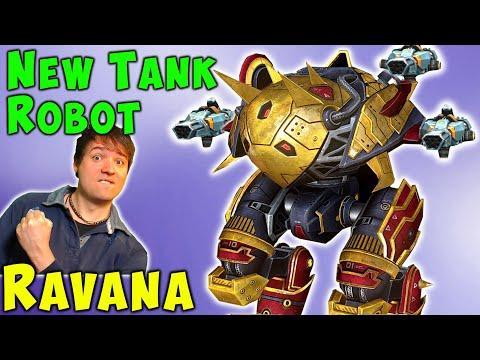NEW Tank Robot RAVANA Test Server Gameplay War Robots WR