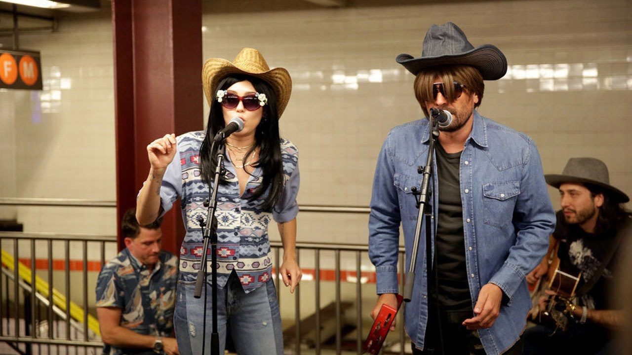 Miley Cyrus and Jimmy Fallon Went Undercover on the Subway and Crowds Loved It
