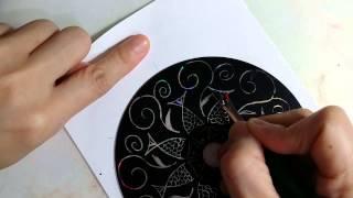 自製CD刮畫