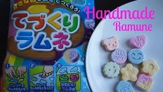 Handmade Ramune Candy Kit てづくりラムネ | Whatcha Eating? #128