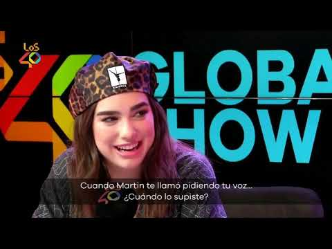 Dua Lipa Talks About Martin Garrix