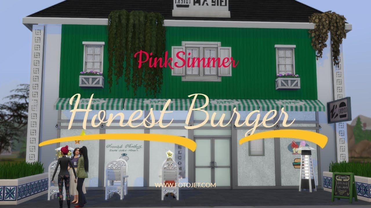 Sims 4 / Honest Burger Restaurant