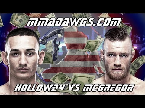 UFC Fight Night 26 Breakdown : Max Holloway vs Conor McGregor - Fight Analysis & Betting Strategy from YouTube · Duration:  9 minutes 44 seconds  · 14000+ views · uploaded on 11/08/2013 · uploaded by mma DAWGS - Prediction Analysis & Betting Strategy