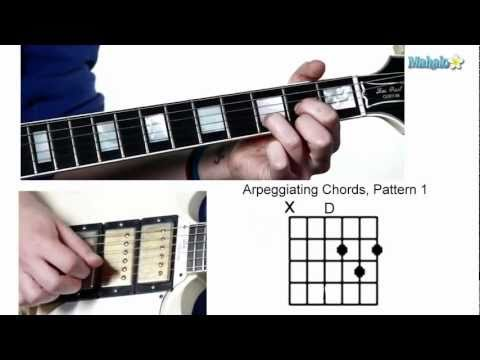 Lesson 12: How to Arpeggiate Guitar Chords (Pattern 1)
