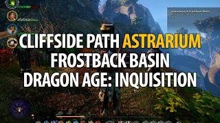 Cliffside Path Astrarium - Frostback Basin - Dragon Age: Inquisition
