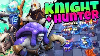 HOW DID WE DO THAT!? - KNIGHT HUNTER - AUTO CHESS MOBILE