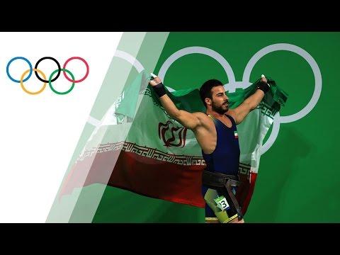 Kianoush Rostami sets new world record and takes Rio gold