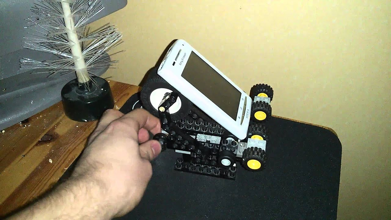 Iphone Holder For Bike >> Adjustable LEGO phone stand - YouTube