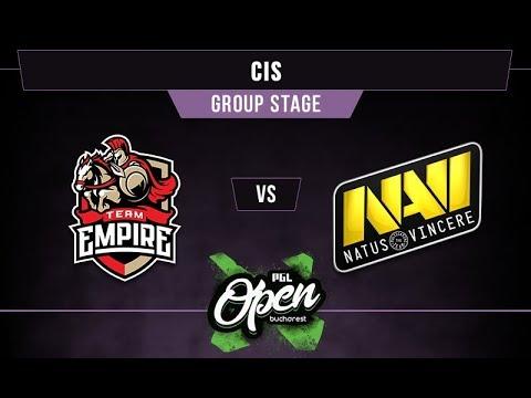 Empire vs NaVi Game 1 - PGL Bucharest CIS Qual. Group A -@dragondropdota @nephsensei