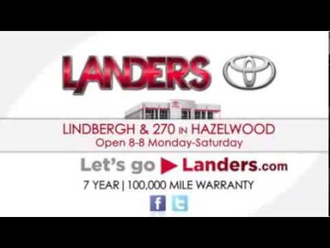 Landers Toyota Internet Sales Department | St. Louis, MO