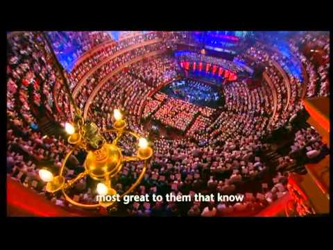 THAXTED-I VOW TO THEE, MY COUNTRY at ROYAL ALBERT HALL,LONDON