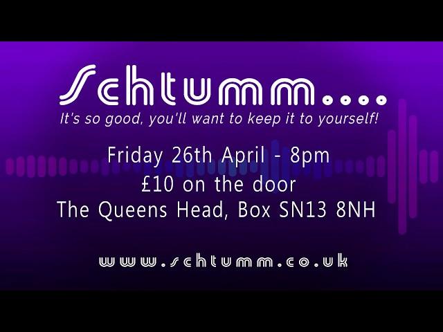 Schtumm Presents Friday 26th April: Sannie Fox + Silas & Saski