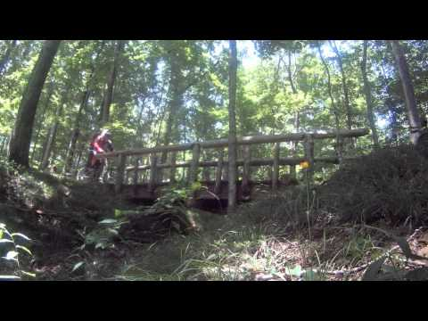 Brown County  Green Valley Mountain Bike Trail
