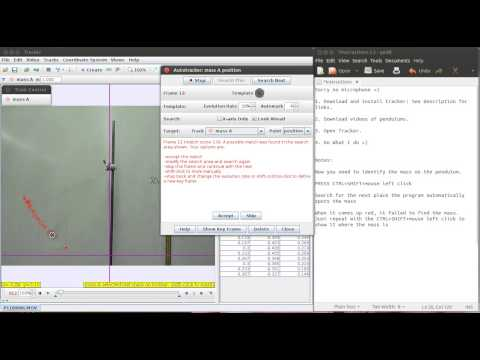 Using Tracker (Open Source Physics Software) for Basic Video Analysis