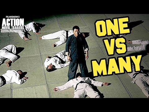 """BEST """"ONE VS MANY"""" FIGHT SCENES 