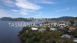 Our World by Drone in 4K - Hobart, Tasmania, Australia
