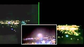 OVNI Jerusalem 3 câmeras simultâneas