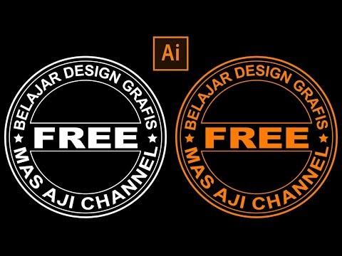 Tutorial Membuat Icon Web Dengan Style Outline di Adobe Illustrator.