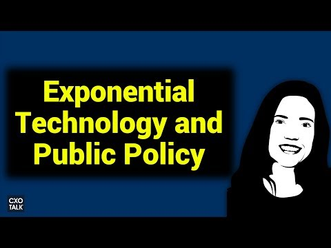 Exponential Healthcare and Public Policy with David Bray and Libbie Prescott (CXOTalk # 252)