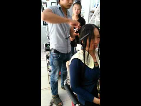Huong dan ky thuat uon toc..(Mrtrung salon hang.) phu quoc 0987528086