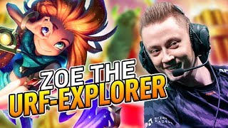 Rekkles | Playing ZOE in URF!